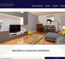 essentiel transaction homepage