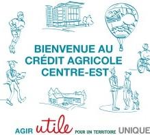 Crédit Agricole Centre est flip book